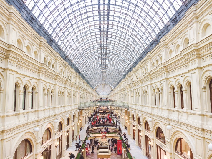 GUM Shopping Center - Moscow, Russia