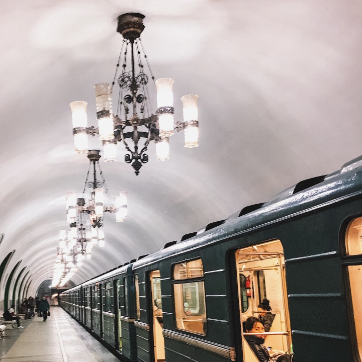 Metro Station - Moscow, Russia