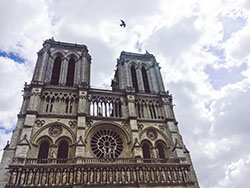 Notre Dome Cathedral Pot of Gold Blog
