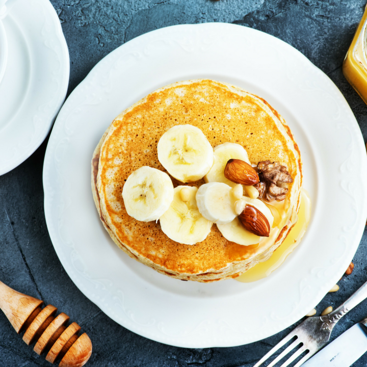 Banana Protein Pancake Recipe With Nature's Choice