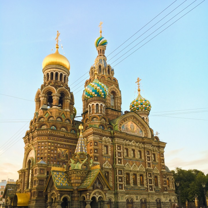 Church Of The Savior Of The Blood Saint Petersburg, Russia