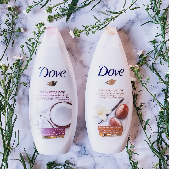 Beauty Product Review: The Purely Pampering Dove Body Wash Range