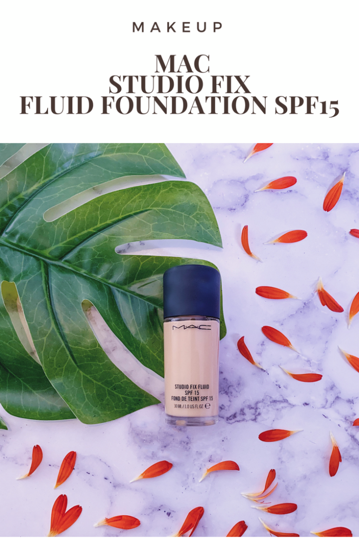 Pinterest MAC Studio Fix Fluid Foundation SPF15 Review