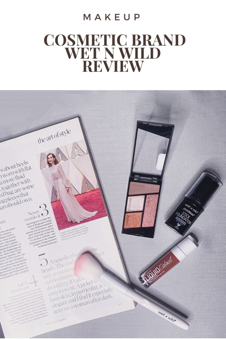 Pinterest Wet N Wild Beauty Review