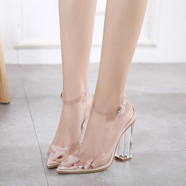 women-s-white-clear-chunky-heels-pointy-toe-ankle-strap-sandals