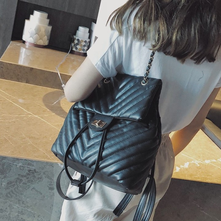 Baginning Black Vintage Backpack