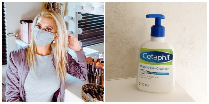 How To Prevent, Treat and Help Remove Maskne With Cetaphil